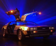 DeLorean Owners Club At NEC Classic Motor Show 10th-12th November 2017