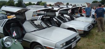 2018 DeLorean Gathering @ The Really Retro & Classic Car Show, Stafford